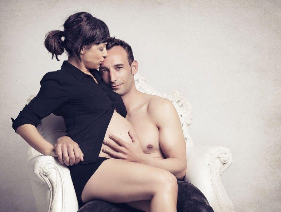 Fotos de estudio de embarazadas en Bilbao