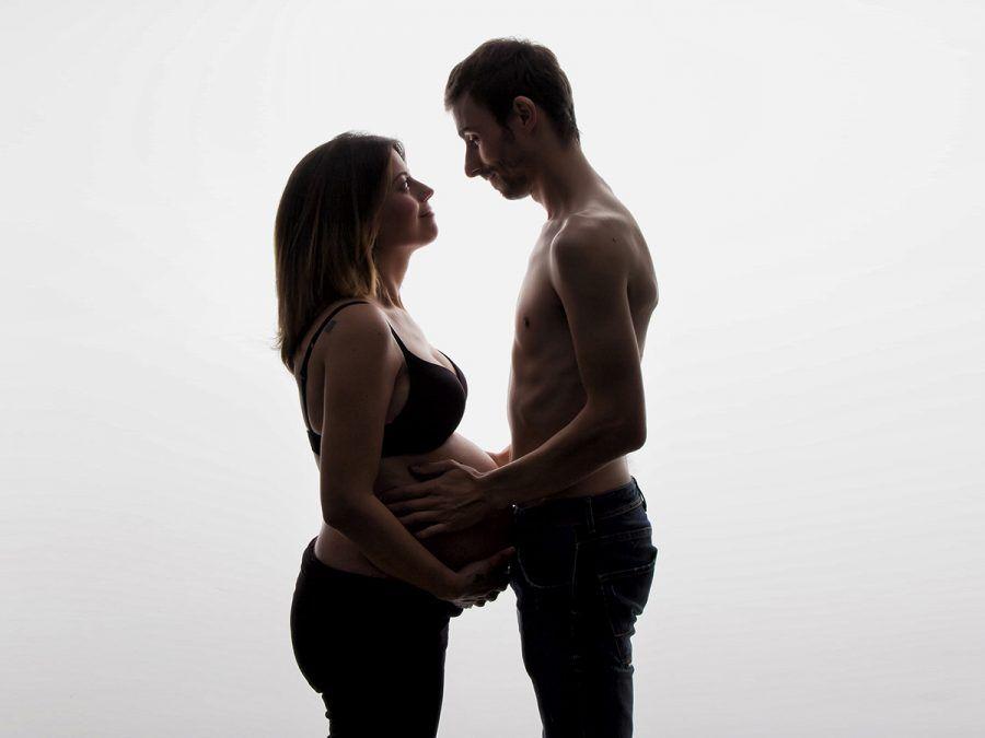 Fotografía de estudio de embarazadas en Bilbao