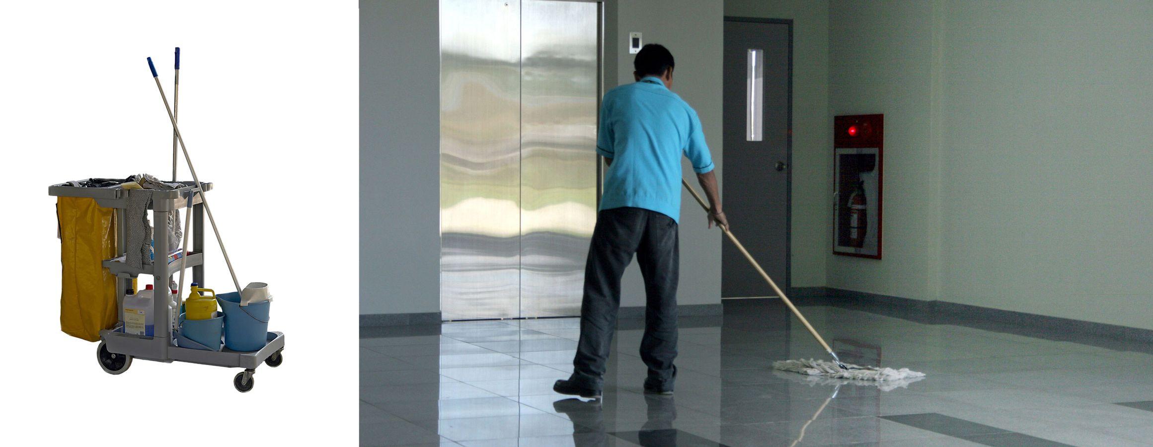 Limpieza y mantenimiento de comunidades en Madrid