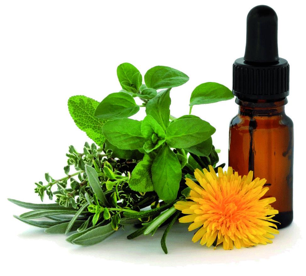 Terapias alternativas. Esencias florales