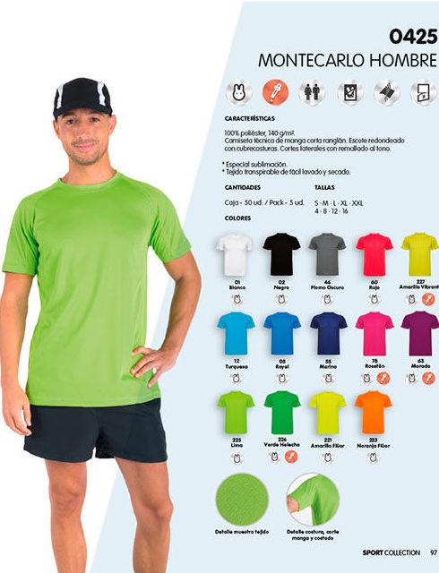 Camiseta Roly Montecarlo para hombres