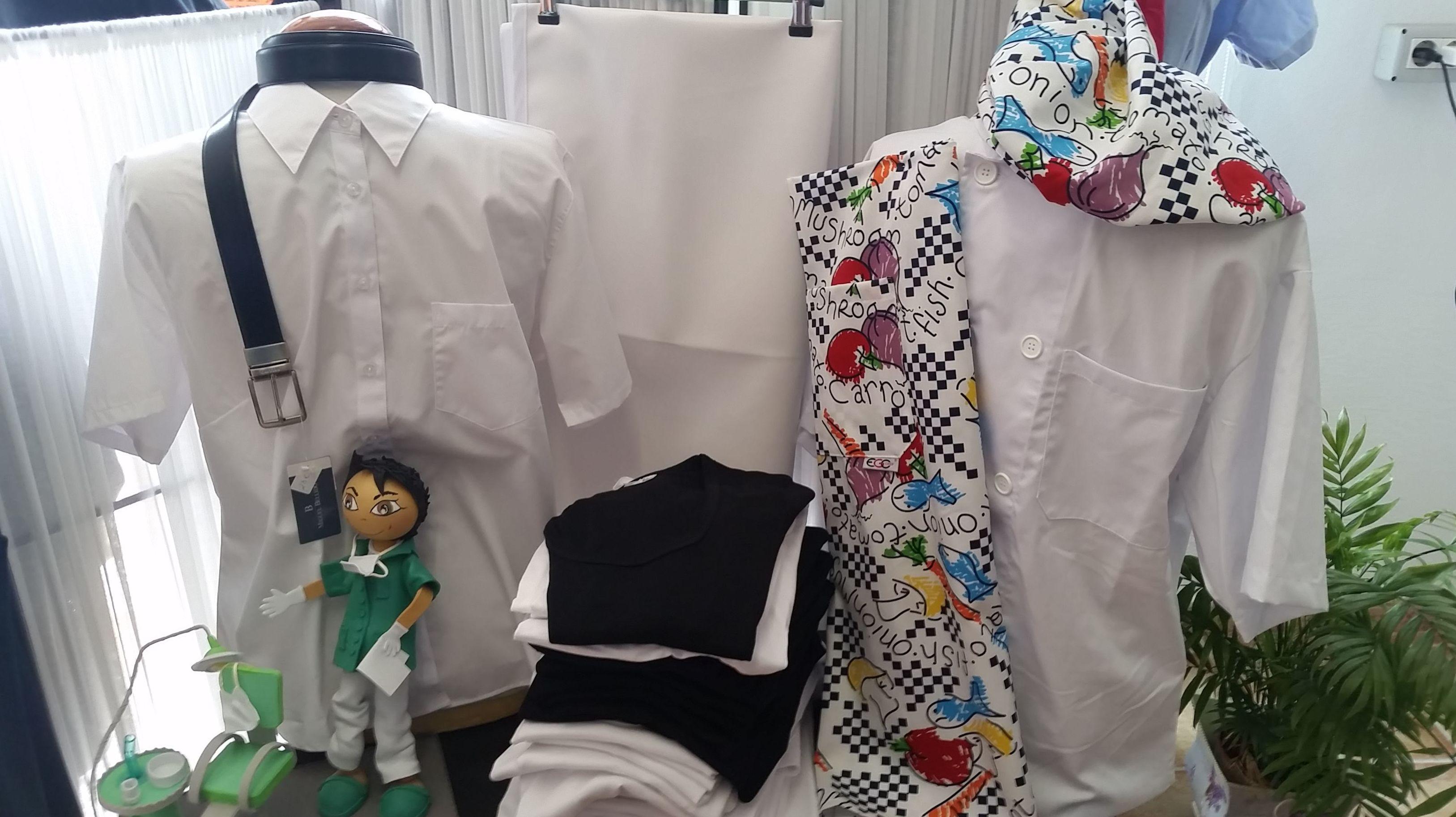 Amplia catálogo de ropa laboral para personal de hostelería