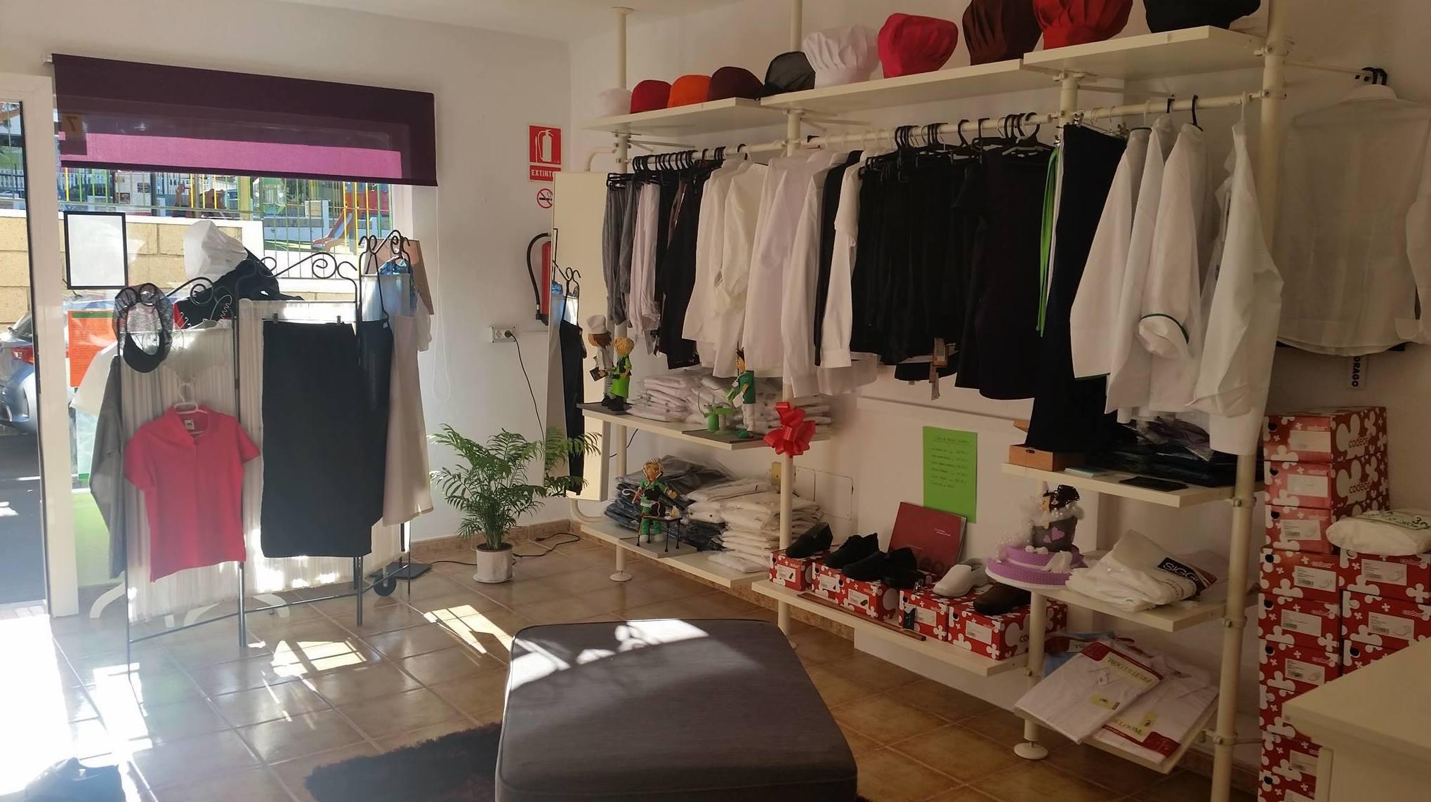 Tienda de uniformes para la hostelería y otras áreas en Tenerife