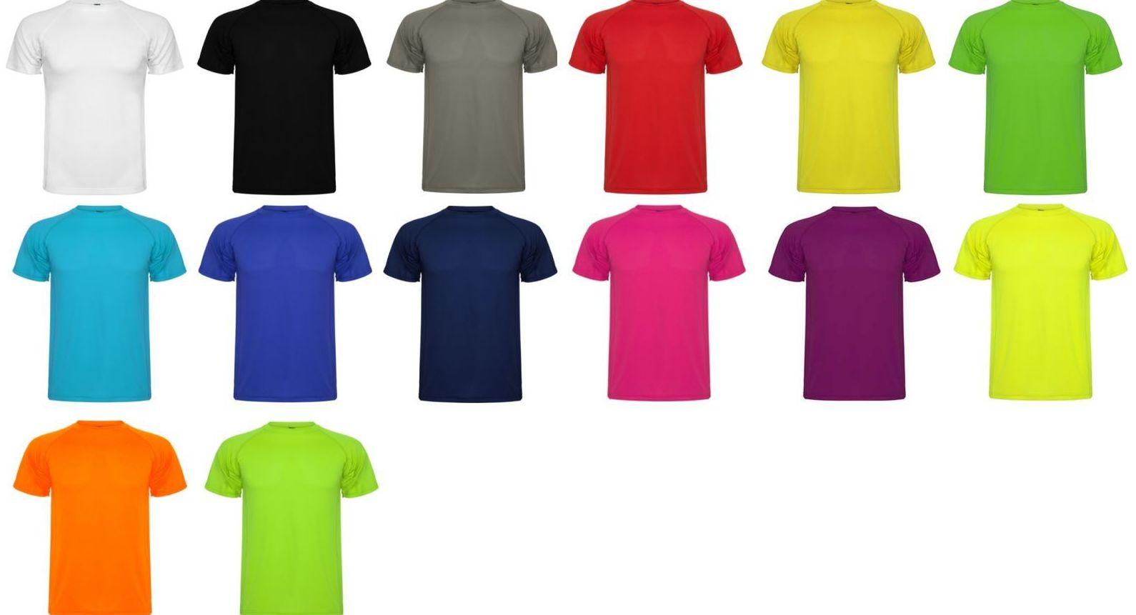 Camisetas Roly en diferentes colores