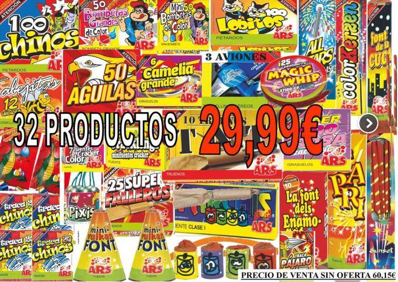Pak y ofertas: Productos de Comercial Fiesta