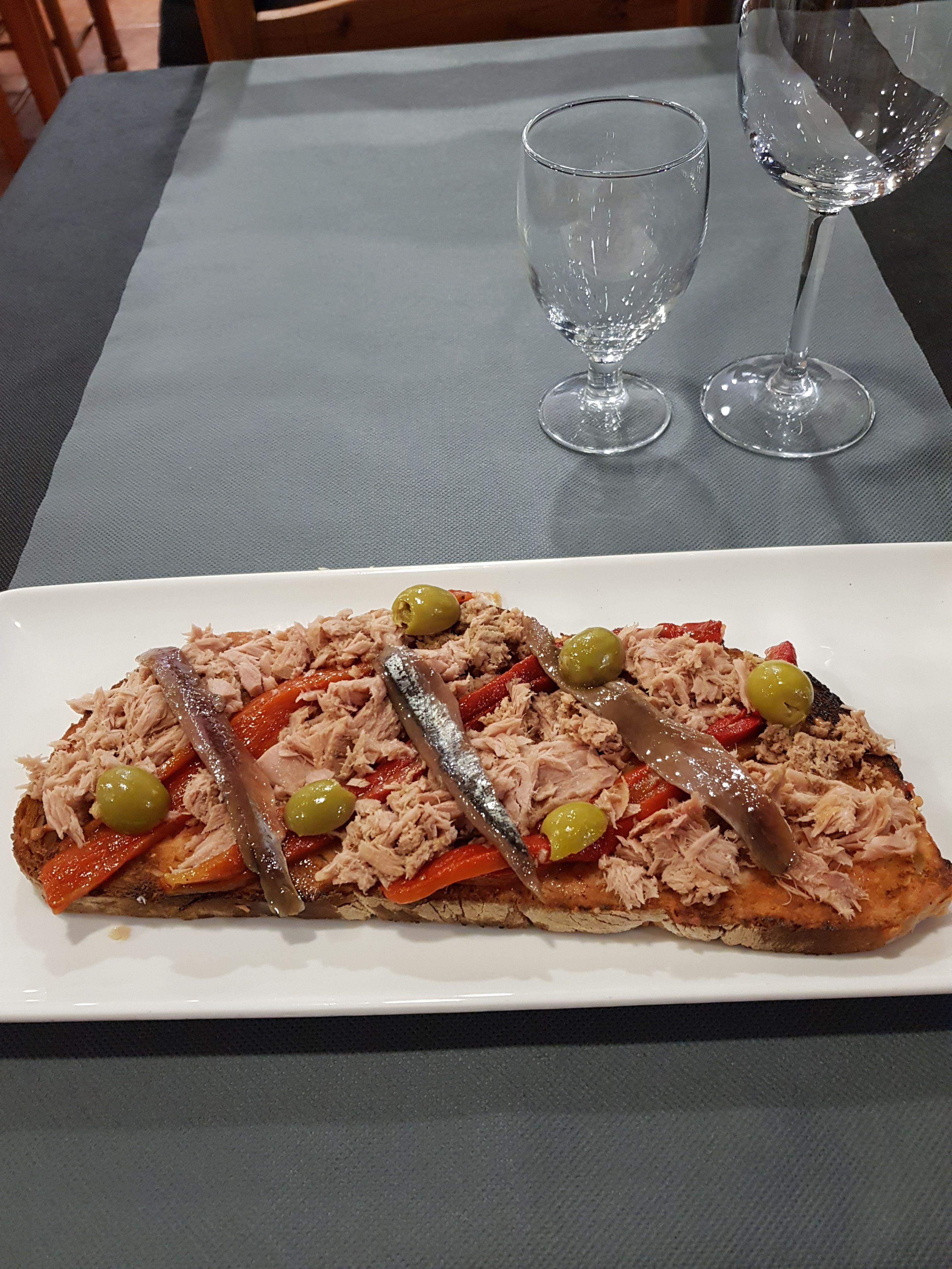 Torradas: Carta y menús de Brasería La Tasca