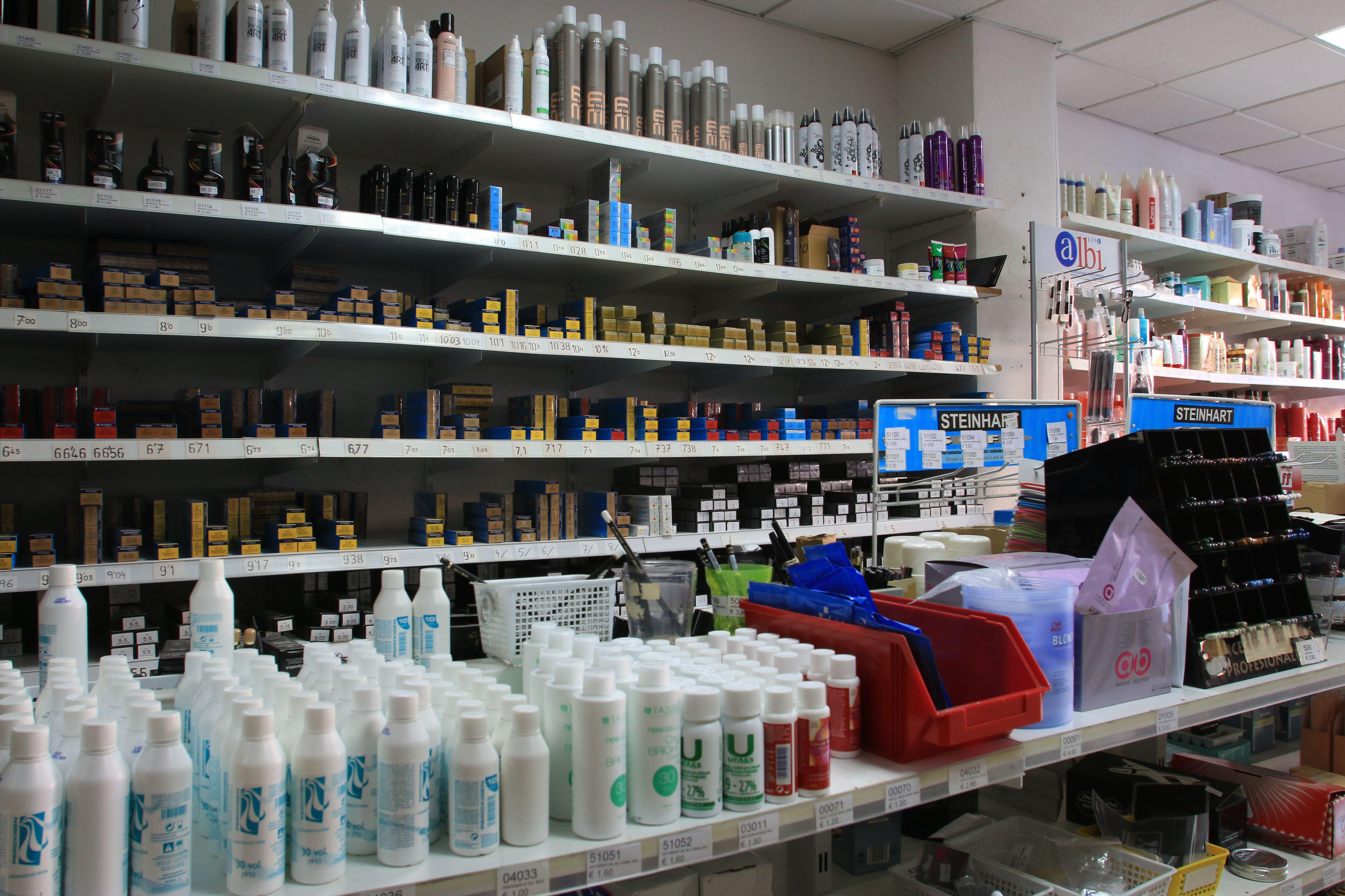 Foto 6 de Suministros para peluquerías en  | Distribuciones Porcel