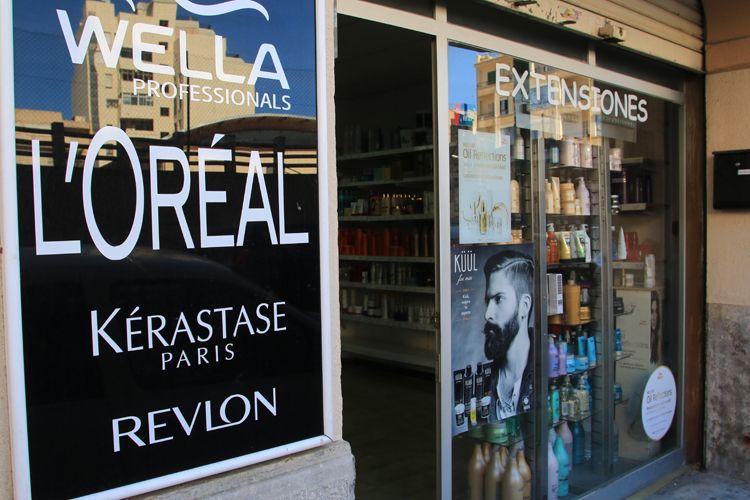 Fachada de nuestra tienda en Palma de Mallorca