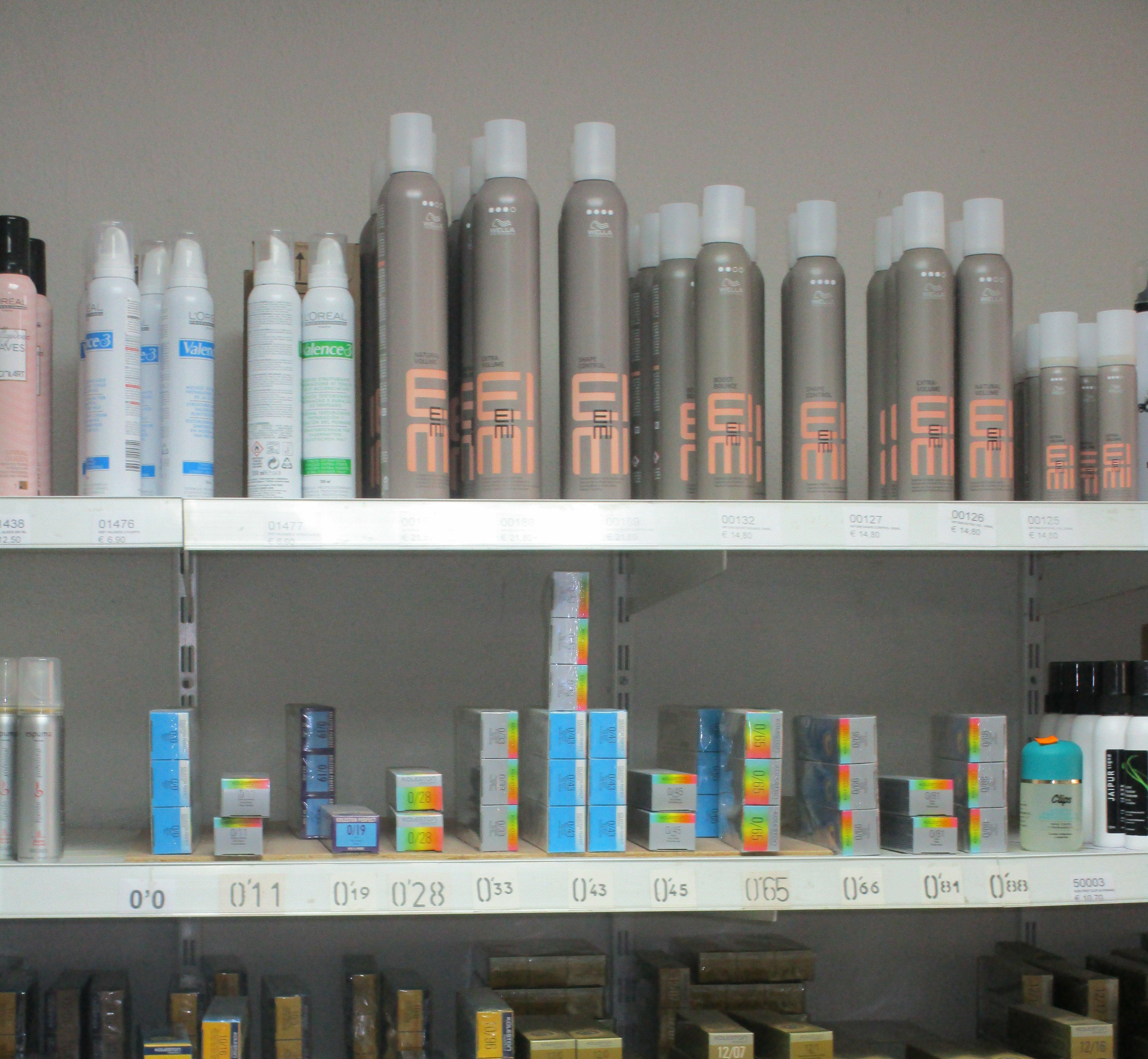 Distribución de productos de peluquería: Servicios de Distribuciones Porcel