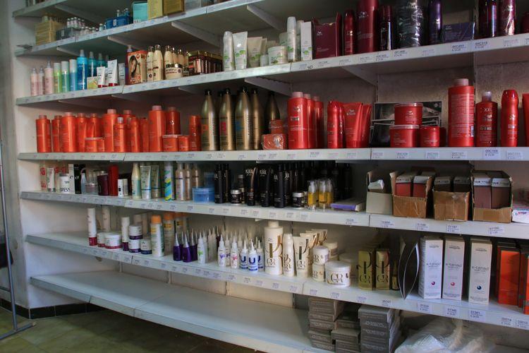 Tienda especializada en productos de peluquería