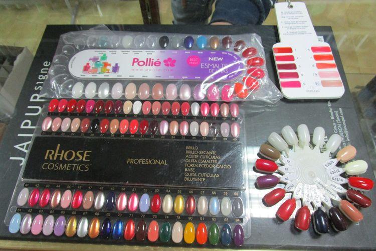 Distribuidores de esmalte para uñas