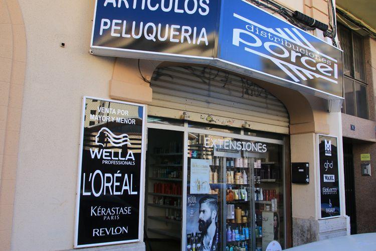 Artículos de peluquería en Palma de Mallorca
