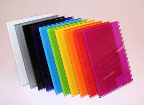 Cristales de todos los colores