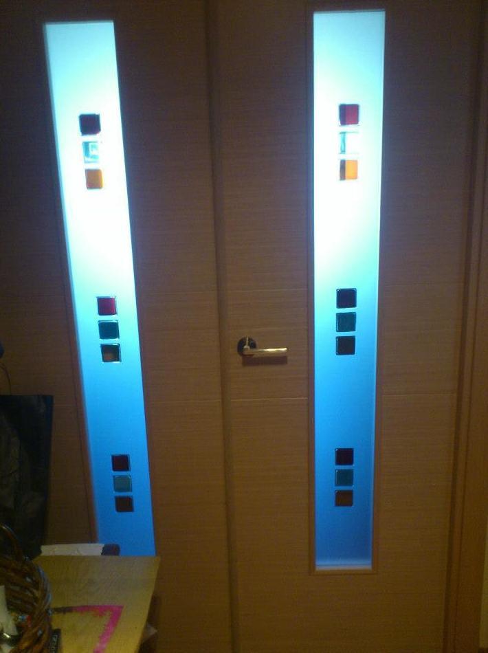 Cristales decorado para puertas