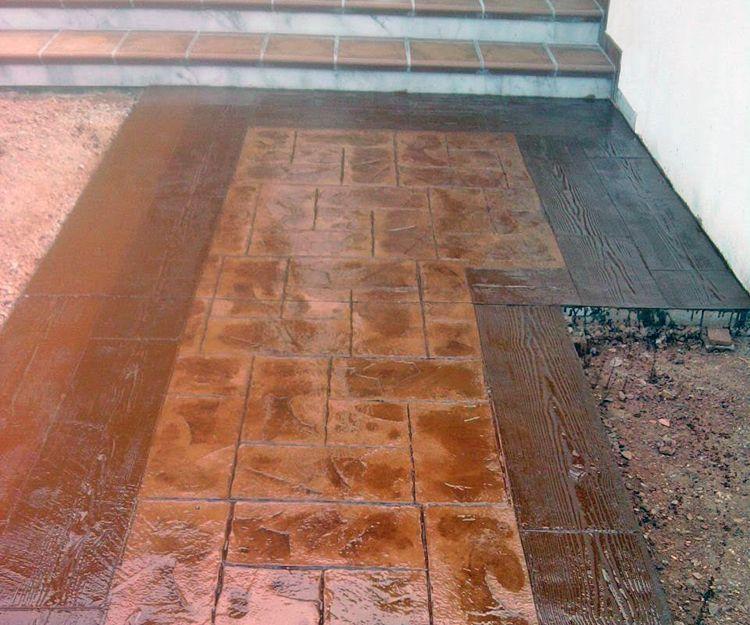 Empresa de pavimentos de hormigón estampado en Badajoz