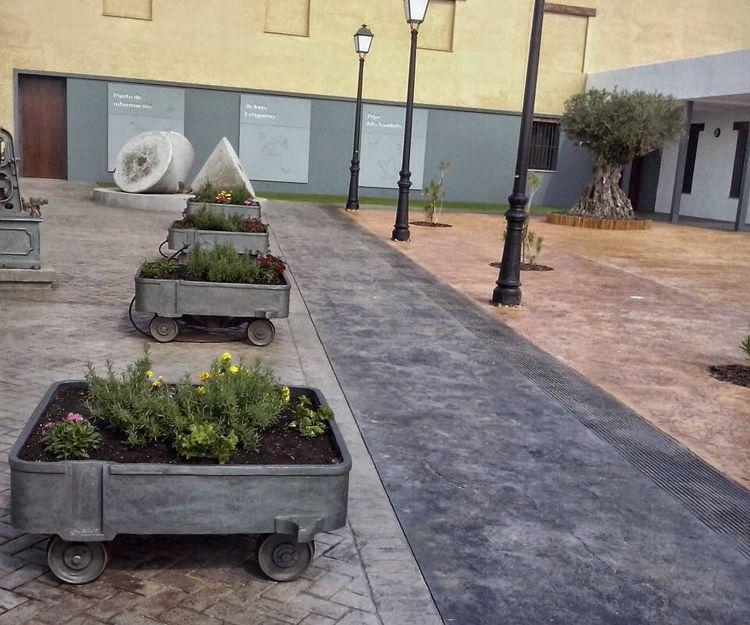 Hormigón desactivado en Badajoz