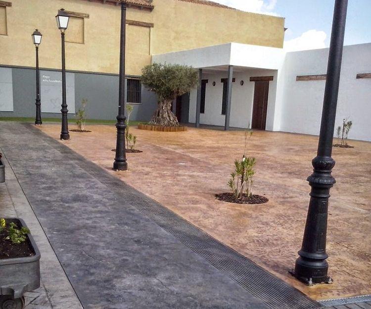 Empresa de hormigón desactivado en Badajoz