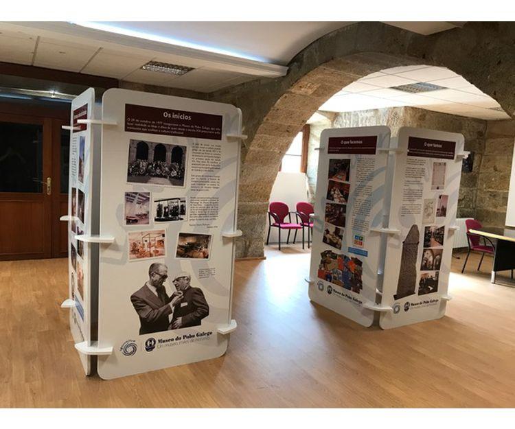 Expositores en Santiago de Compostela