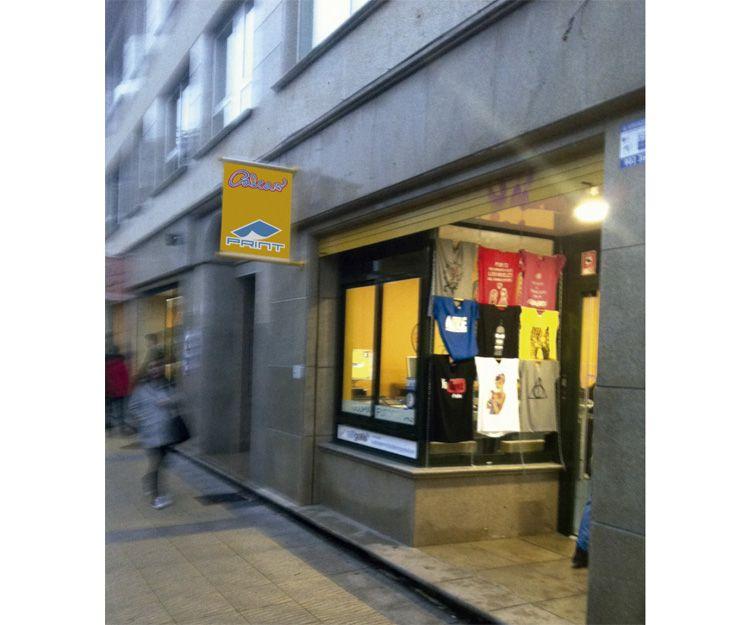 Serigrafía textil en Santiago de Compostela