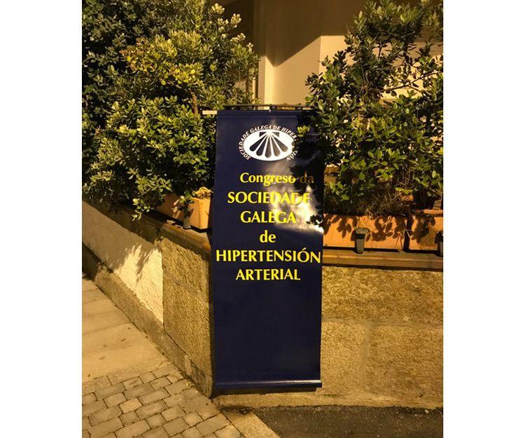 Impresión sobre lona en Santiago de Compostela