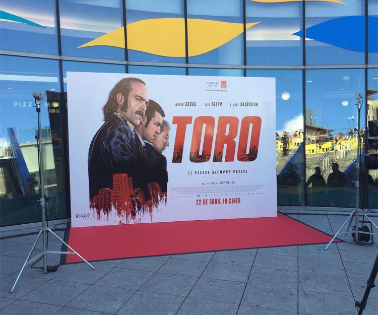 Impresión de gran formato para el cine en Santiago de Compostela