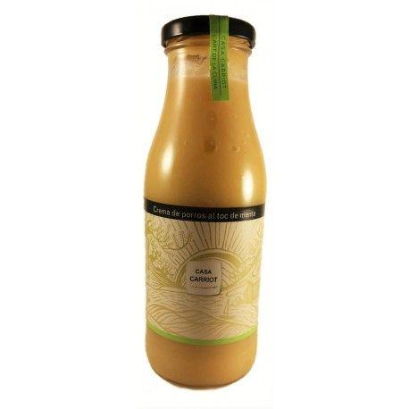 Caldos y crema naturales: Productos de La Botiga de Fortià