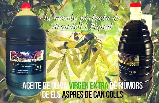 Aceite de oliva extra el Alt Empordà