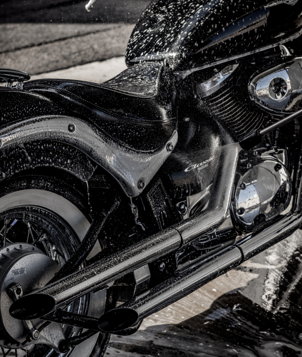 Lavado de motos.