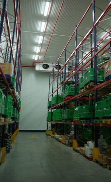 Montaje y mantenimiento de plataformas logísticas de productos refrigerados