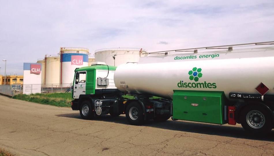 Amplia flota de camiones