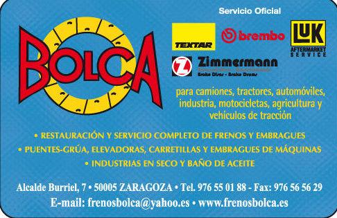 Foto 1 de Frenos en Zaragoza | Bolca