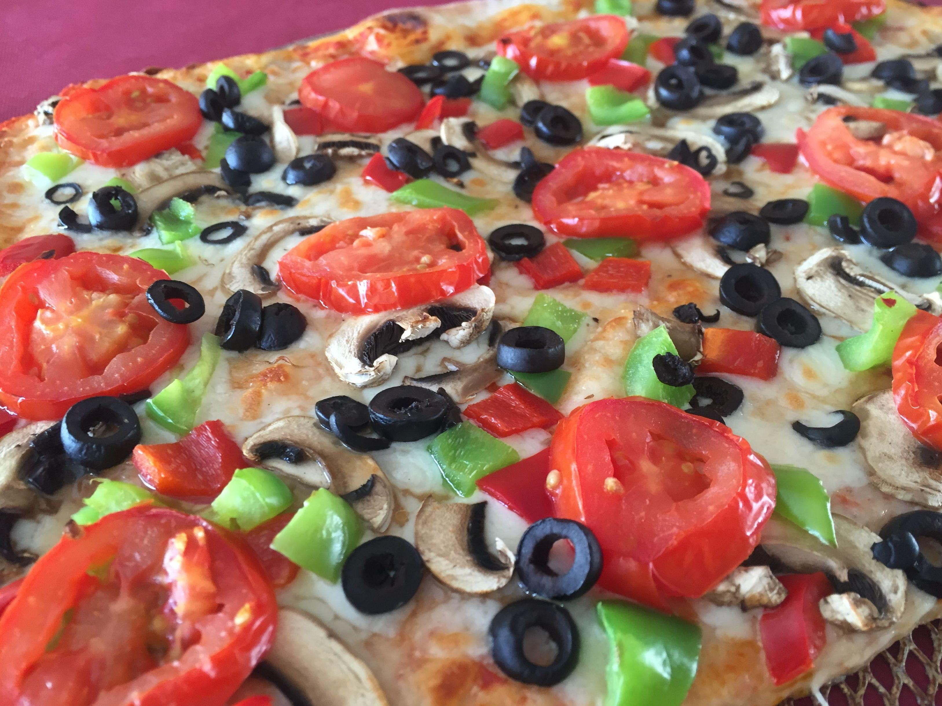 Amplia carta de pizzas