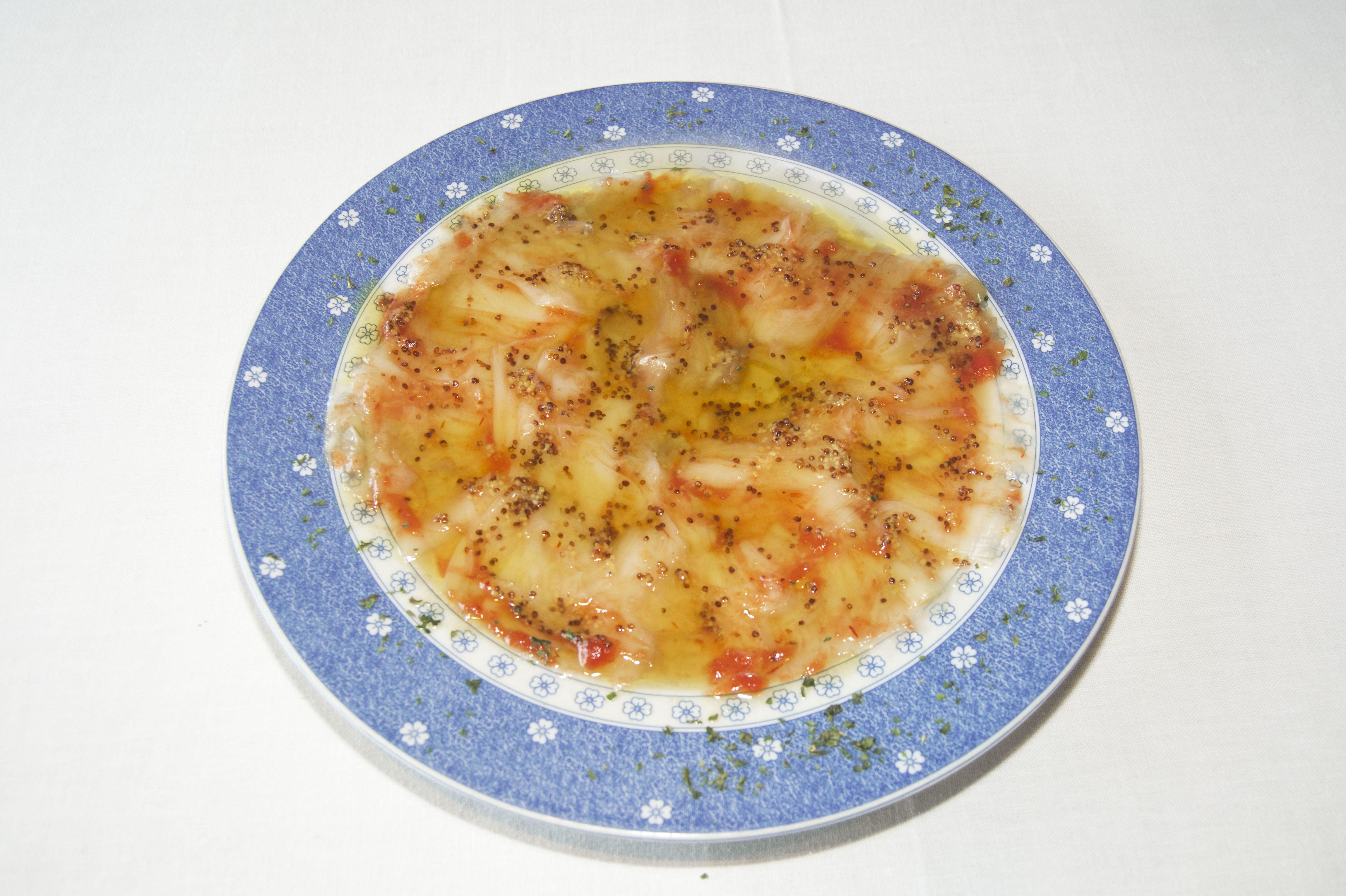 Platos de gastronomía italiana