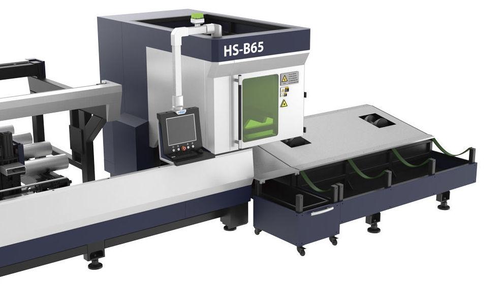 máquina láser para corte de tubos estándar