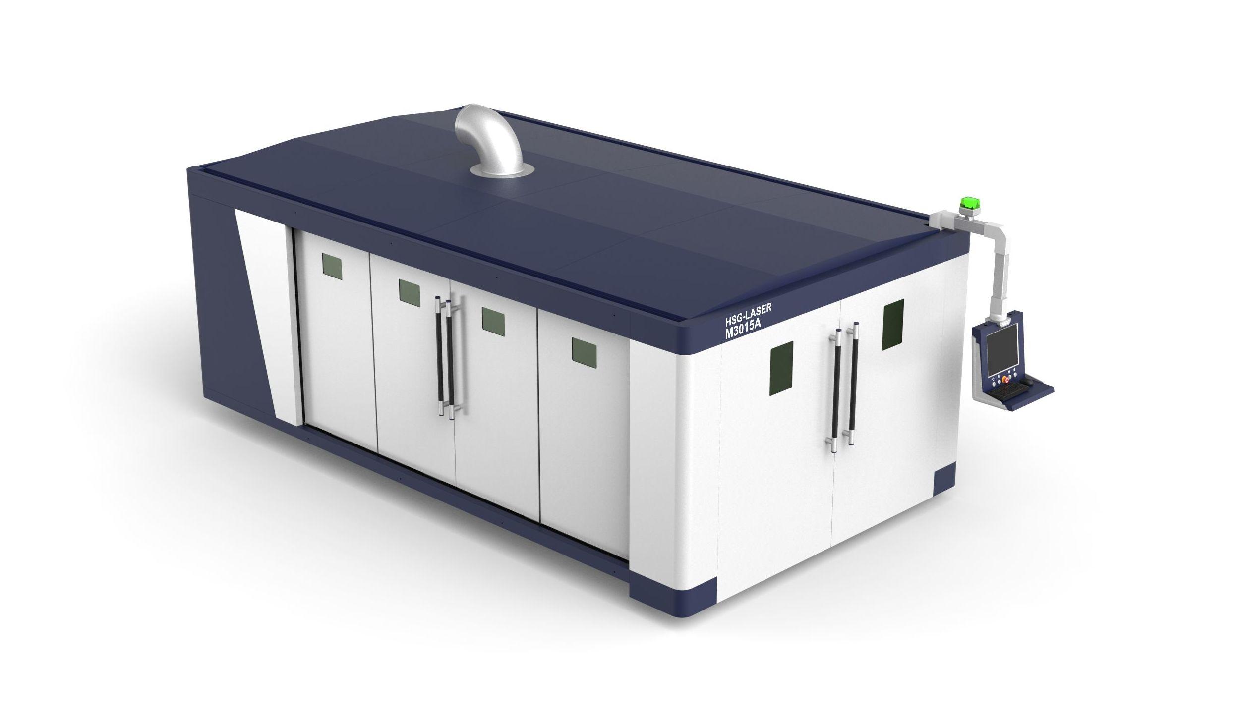 Máquina de corte por láser de fibra de 500W