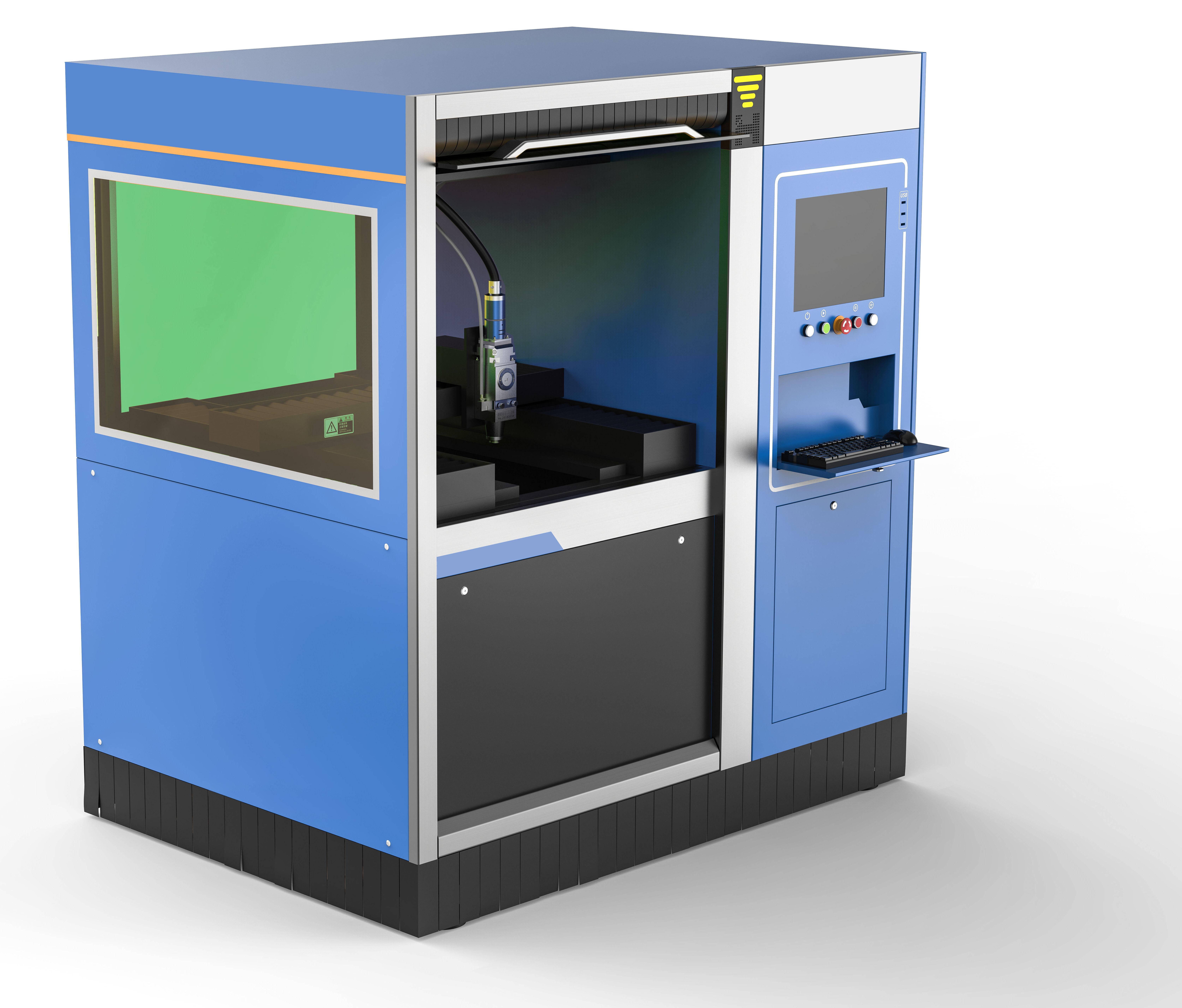 Máquina láser de corte por fibra de corte preciso HS-P0637
