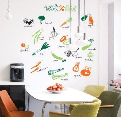 Wall sticker vinilo decorativo 100% Bio en Barcelona