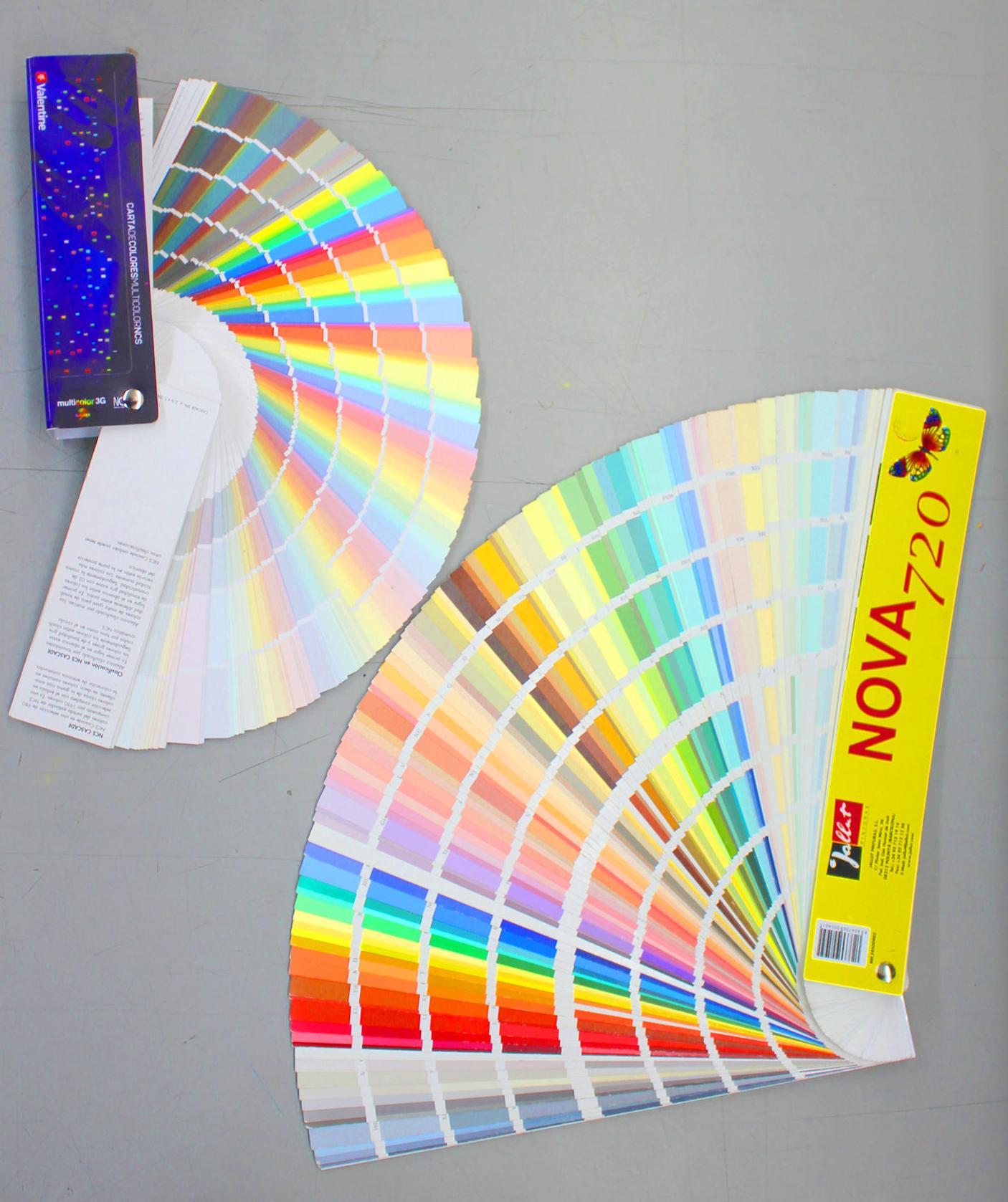 Cartas de color: Nuestros productos de Moquetes Terrassa