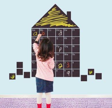 Wall sticker vinilo decorativo Letters Home en Barcelona