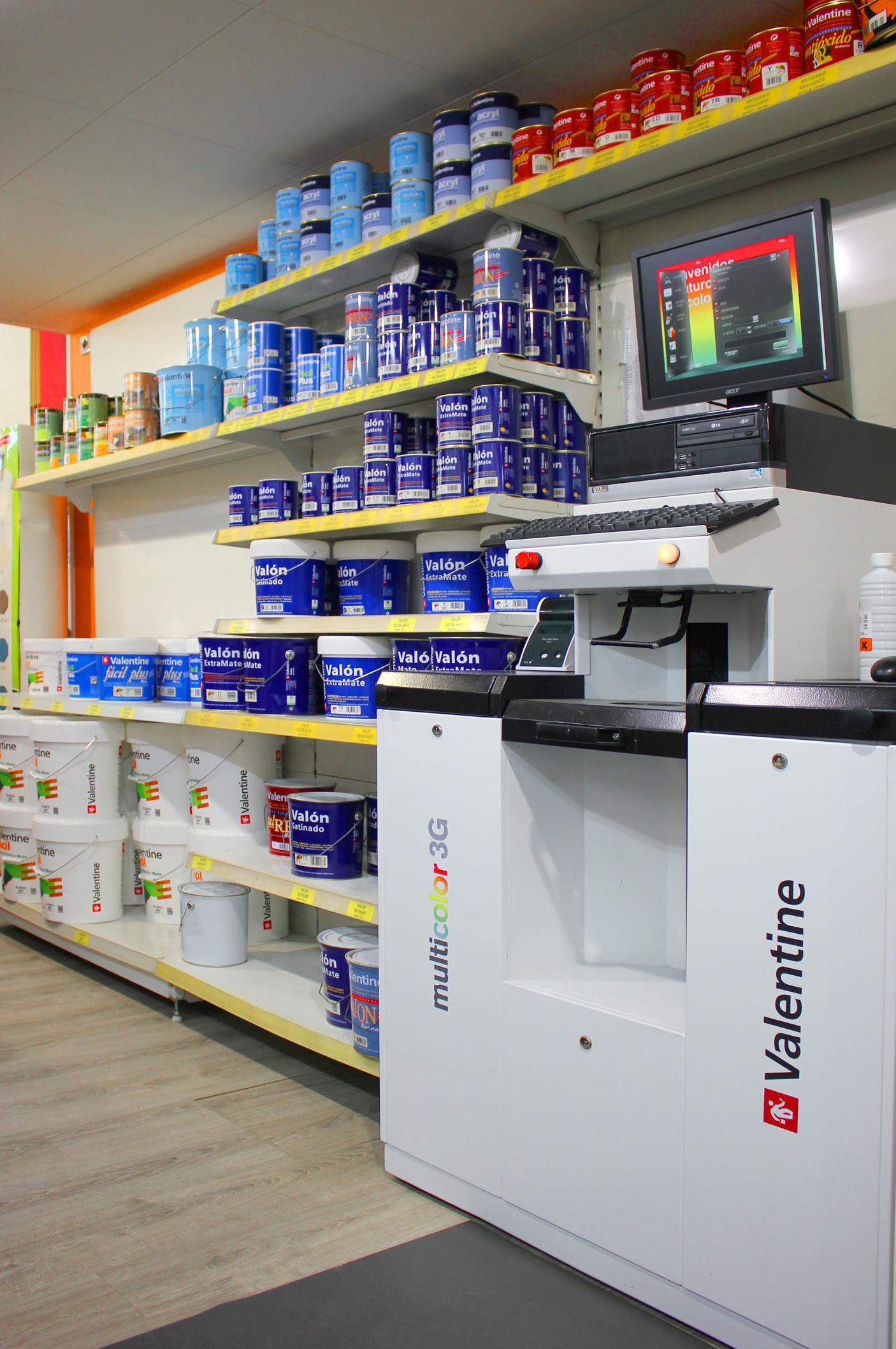 Máquina tintométrica: Nuestros productos de Moquetes Terrassa