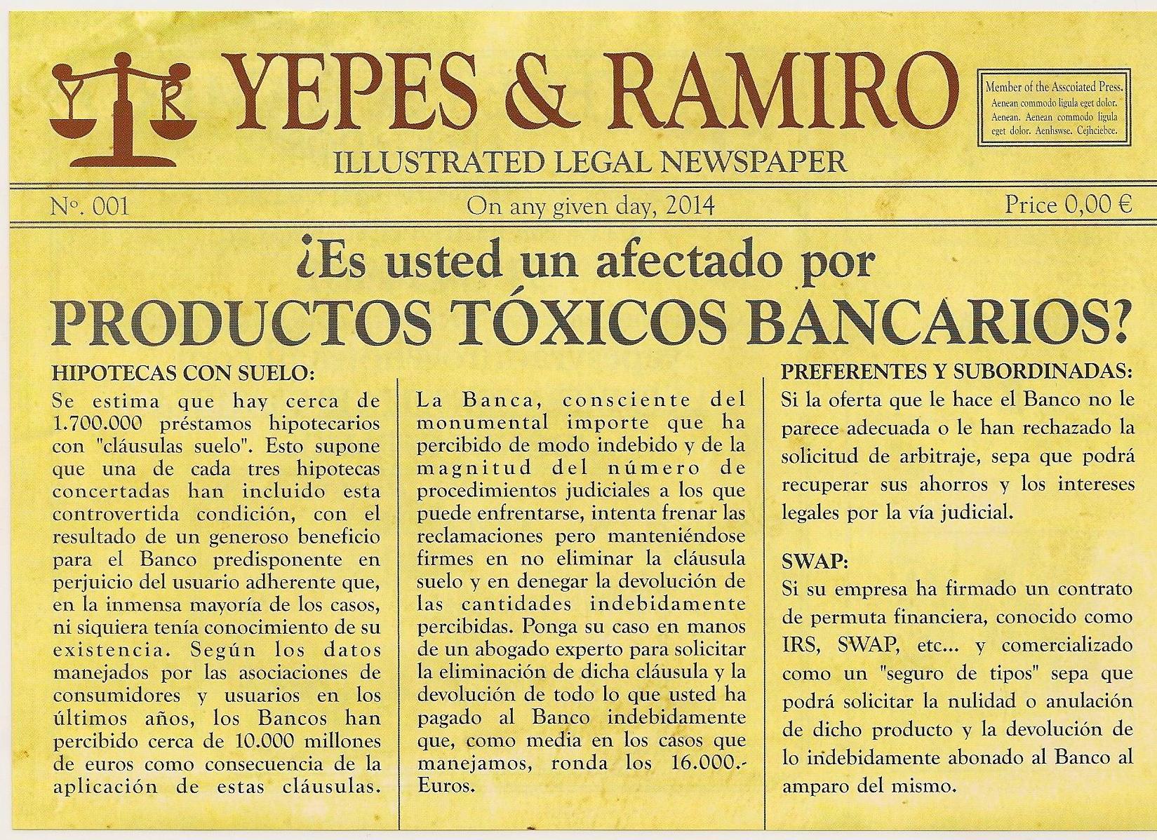 Foto 12 de Abogados en Colmenar Viejo | Yepes y Ramiro Abogados, S.L.