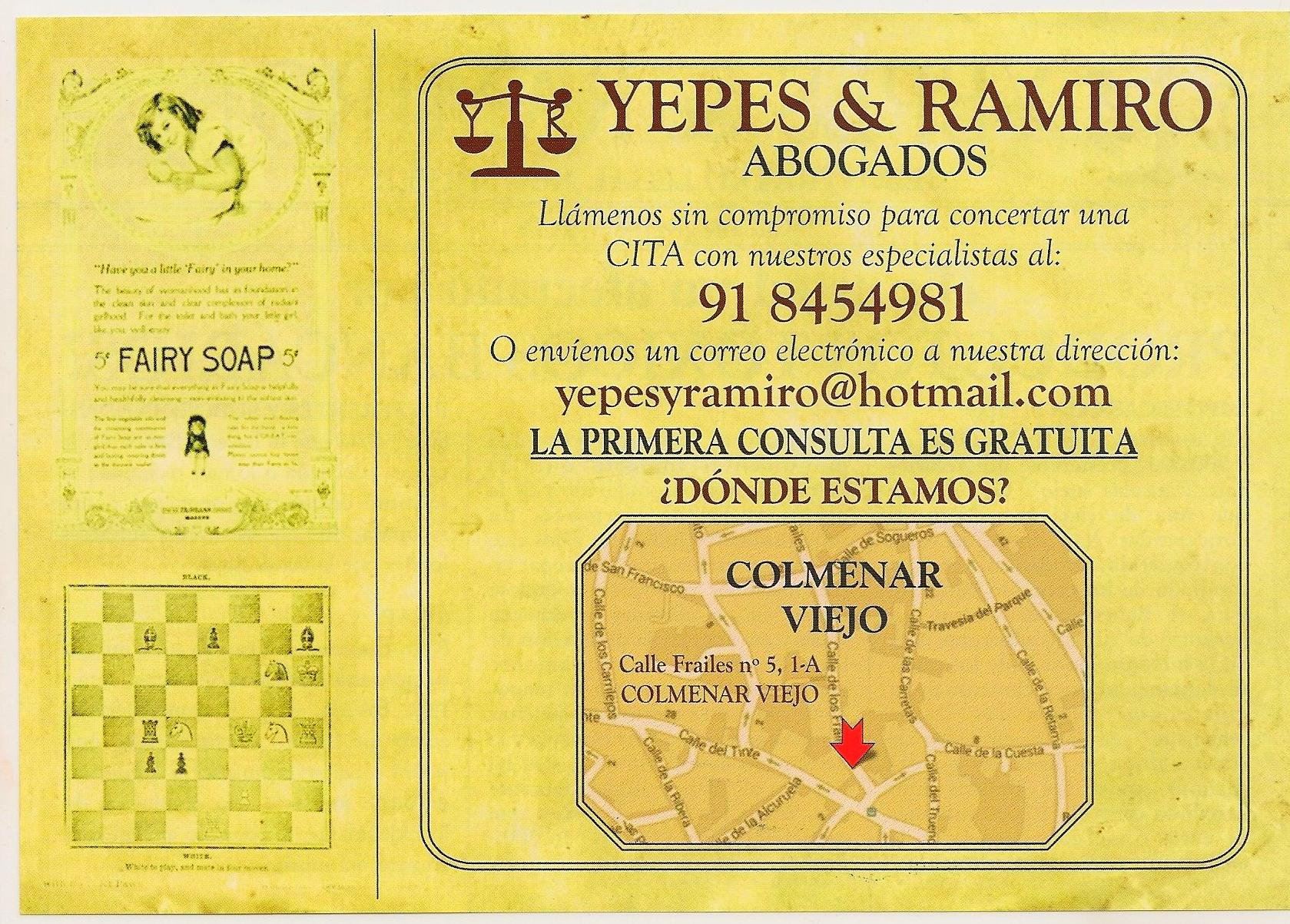 Foto 13 de Abogados en Colmenar Viejo | Yepes y Ramiro Abogados, S.L.