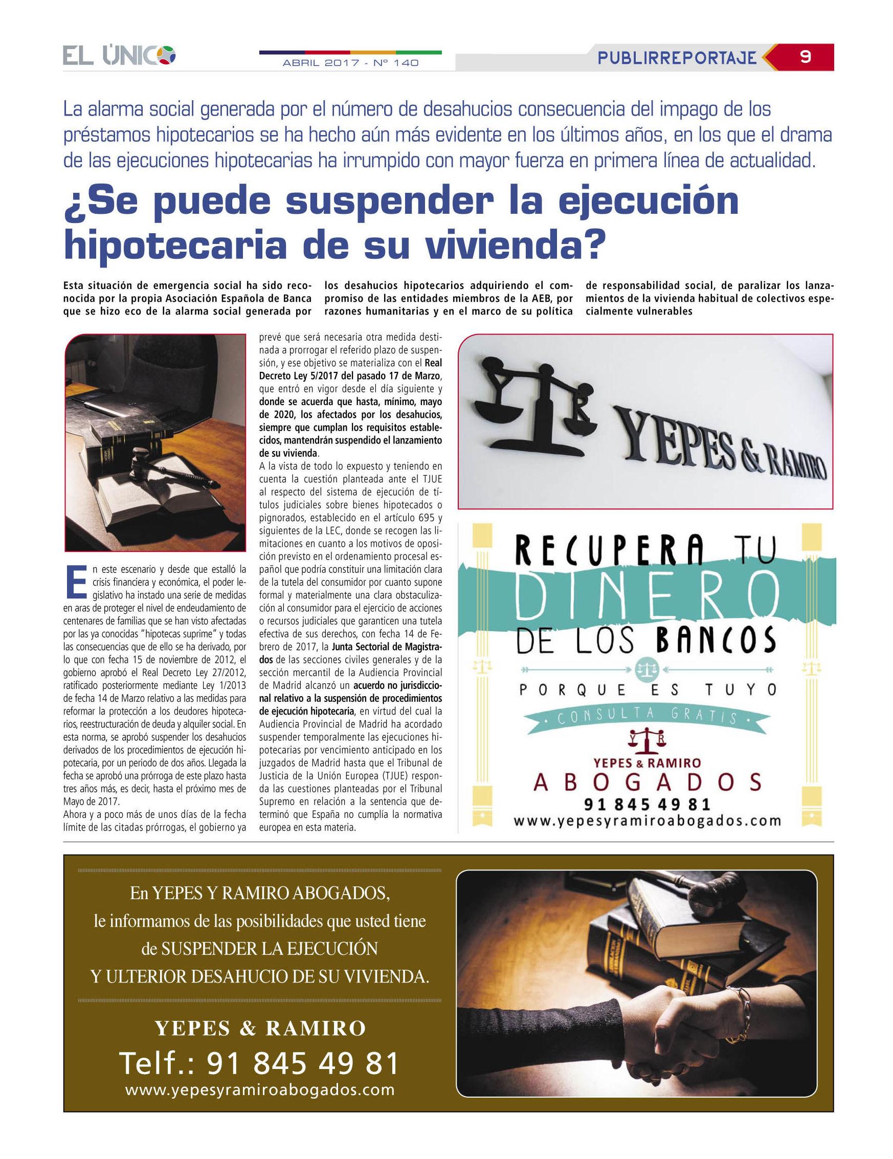 Foto 1 de Abogados en Colmenar Viejo | Yepes y Ramiro Abogados, S.L.