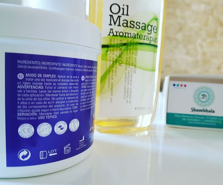 Tratamientos con aceites aromáticos