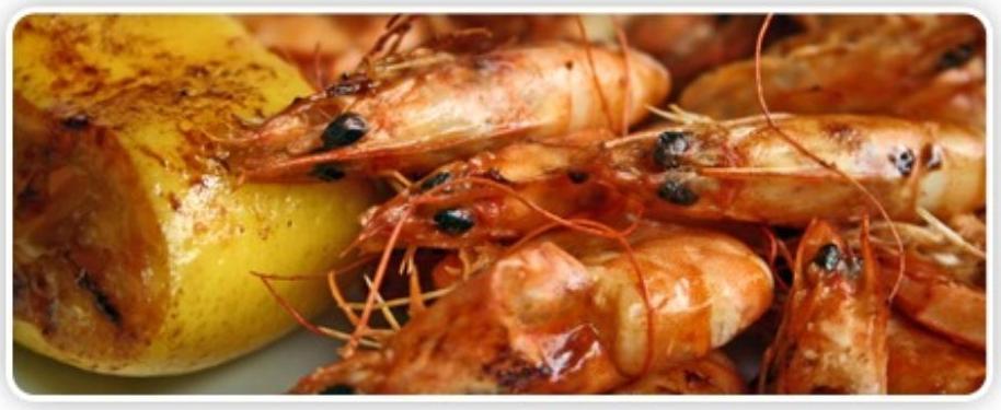Gambas a la plancha: Nuestras Especialidades de Restaurante Bahía De Vigo