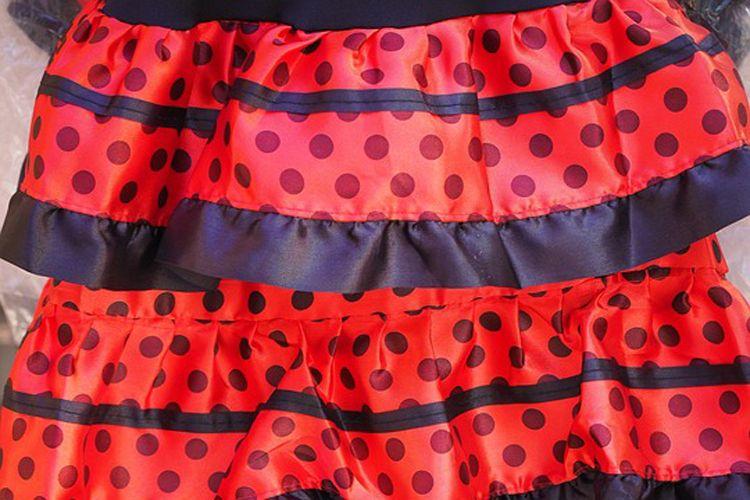 Tejidos para confeccionar trajes de flamenca