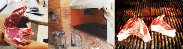 """El asador-restaurante """"La Palomas""""  dispone de una parrilla amplia con las mejores carnes de Ávila"""