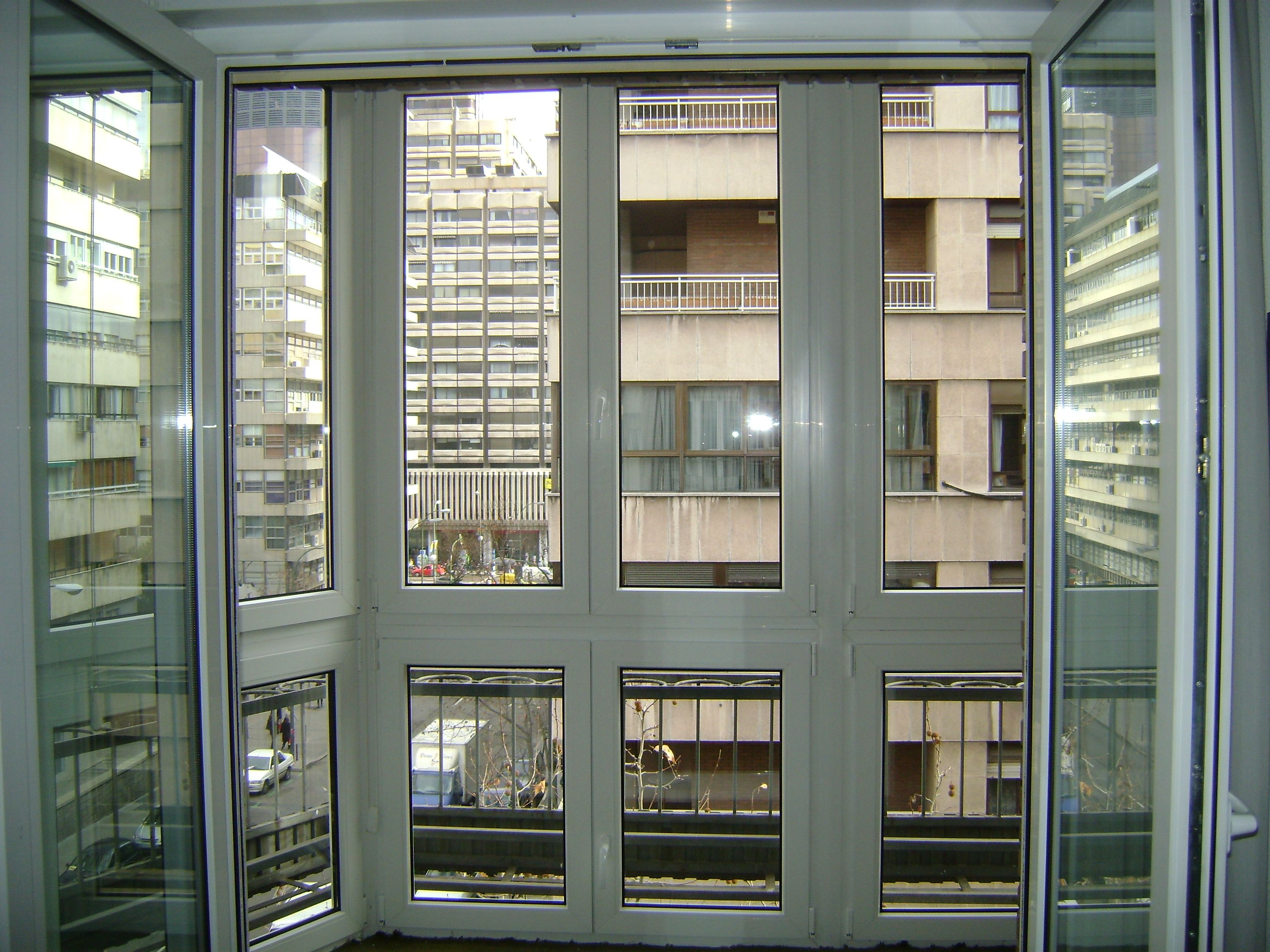 Cerramientos en aluminiio  o PVC en Madrid