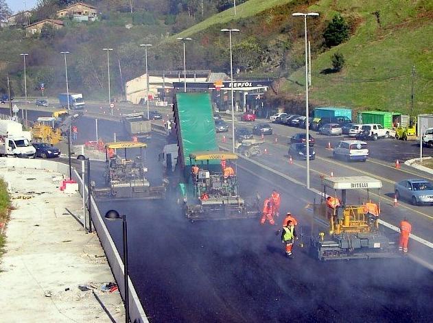 Foto 4 de Asfaltos en Bilbao | Asfaltados Olarra