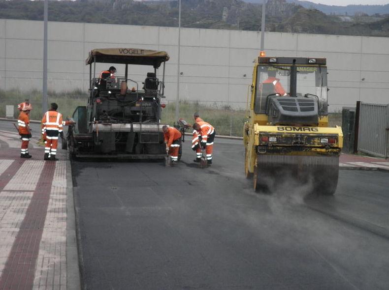 Pavimentos de asfaltos fundidos